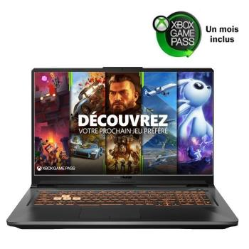 PC portable Asus TUF706IU-H7012T