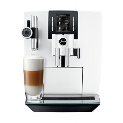 Machine à café broyeur Jura J6 PIANOWHITE 15165