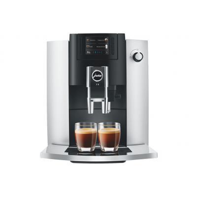 Machine à café broyeur Jura E6 Platinum (EB) 15376