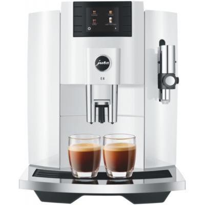 Machine à café broyeur Jura Jura E8 Piano White EB