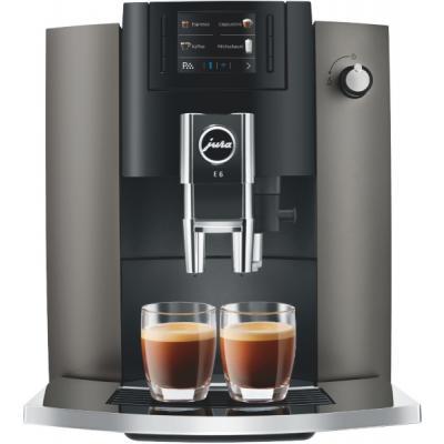 Machine à café broyeur Jura Jura E6 Dark Inox EB