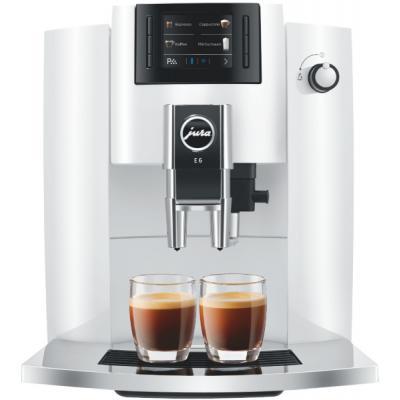 Machine à café broyeur Jura E6 Piano White EB
