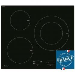 Plaques de cuisson avec 3 foyers de cuisson